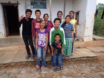 Visiting the Orphanage with Santosh and Sundar