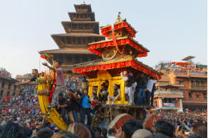 First Day of the Biska: Jatra